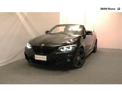 usata BMW 220 Serie 2 Cabrio d Msport del 2019 usata a Roma