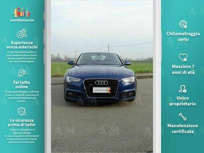 usata Audi A5 Sportback 2.0 TDI 190 CV clean diesel quattro S tr. S line ed. usato
