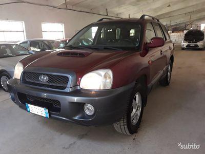 brugt Hyundai Santa Fe 2.0 diesel 4 x 4 perfetta