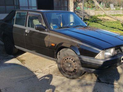 usata Alfa Romeo 75 1.6 nera 1986