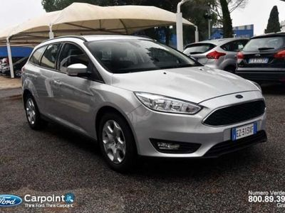 usata Ford Focus Station Wagon 1.5 TDCi 120 CV Start&Stop SW Plus del 2015 usata a Roma