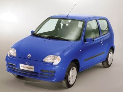 gebraucht Fiat Seicento cat Actual clima