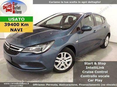 usata Opel Astra EcoFlex 2017 1.0 B 105CV 5Aut 5P Blu