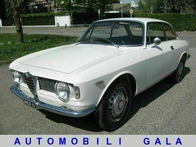 """usata Alfa Romeo Giulia gt sprint 1600 """" restaurata """" targhe nere"""