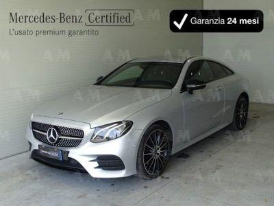 usata Mercedes 220 Classe E Coupéd 4Matic Premium del 2017 usata a Mosciano Sant'Angelo