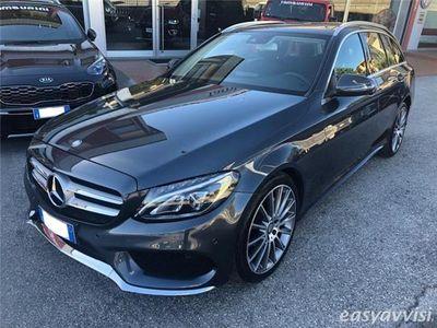 gebraucht Mercedes 170 classe c ds.w. auto premium tetto navi diesel