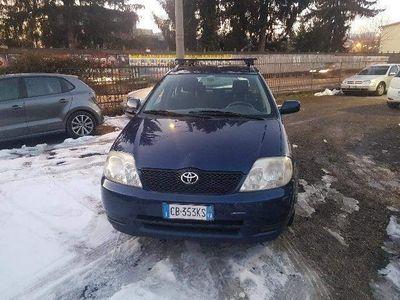 używany Toyota Corolla 1.6 benzina 16V 5 porte