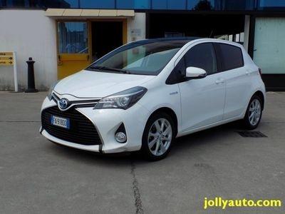 usata Toyota Yaris 1.5 Hybrid 5P Automatica Navigatore E6