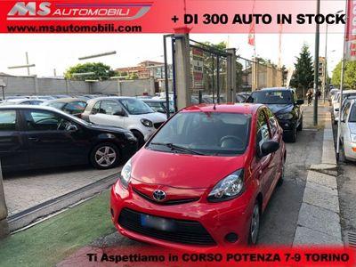 usata Toyota Aygo 1.0 12V VVT-i 5 porte Neopatentati Unicoproprietar
