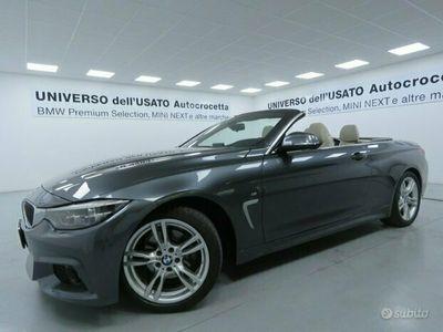 usata BMW 420 d Cabrio Msport Auto EURO 6