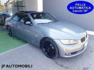 "usata BMW 330 Cabriolet d 231cv *CAMBIO AUTOMATICO*PELLE*CERCHI 18"""