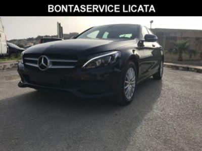 usata Mercedes C300 bluetec hybrid automatic premium elettrica/diesel