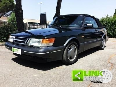 usata Saab 900 Cabriolet 2.0i Turbo 16V SE, anno 1994, iscritta ASI, perfetta