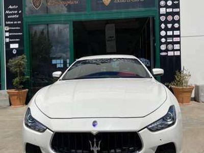 "usata Maserati Ghibli V6 Diesel 275 CV Pelle Rosso Cartier Led ""18"