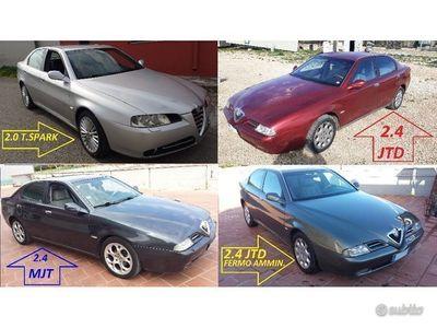 usata Alfa Romeo 166 full optional 2.4 jtd e 2.0 T.SPARK entr