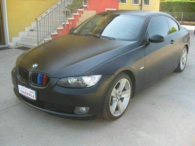 usata BMW 320 d cat coupé eletta nero opaco xeno