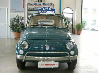 usata Fiat 500L CABRIO - Anni 70 CERT.ASI-SOLO60MILA KM-