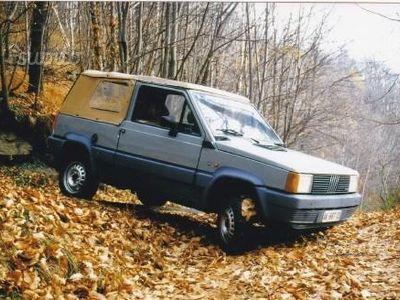 sold fiat panda 4x4 4x4 prima serie used cars for sale. Black Bedroom Furniture Sets. Home Design Ideas