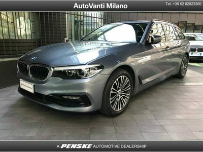 usata BMW 520 Serie 5 Touring d Sport del 2018 usata a Milano