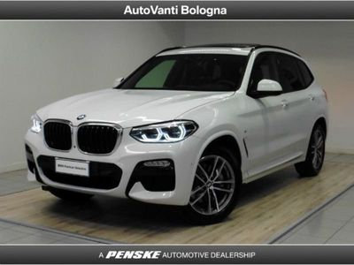 used BMW X3 xDrive 25d Msport