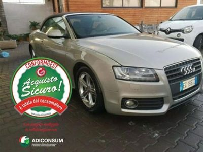 usata Audi A5 Cabriolet 2.7 TDI F.AP. multitronic SLINE ESTERNO rif. 13411032