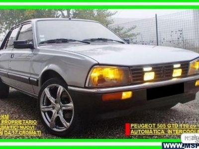 usata Peugeot 505 2.5 GTD 110cv AUT. pochi km - 1987