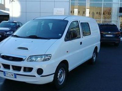 brugt Hyundai H-1 2.5 TDI PL Van 6 posti Air