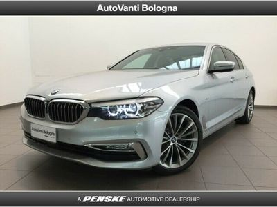 used BMW 520 Serie 5 d xDrive Luxury nuova a Milano