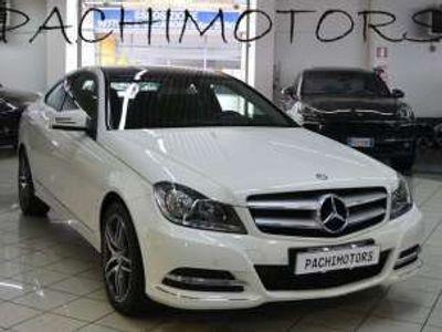 usata Mercedes C220 CDI BlueEFFICIENCY Coupé Executive Km 61.000