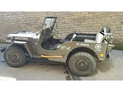 used Jeep Willys WillysMILITARY FORD ITALIA AUTOCARRO