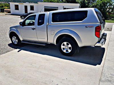 used Nissan King Navara 2.5 dCi 2 porteCab Sport