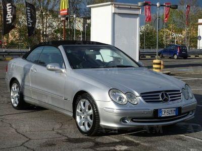 brugt Mercedes CLK200 Kompr. TPS Cabrio Elegance Automatica