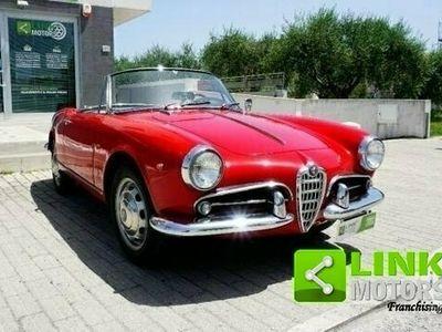 usata Alfa Romeo Giulietta -Spider 1300 - EPOCA 1961 -