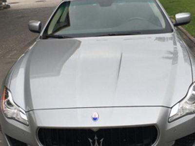 "brugt Maserati Quattroporte 3.0 DIESEL 62000 KM ""NUOVA"