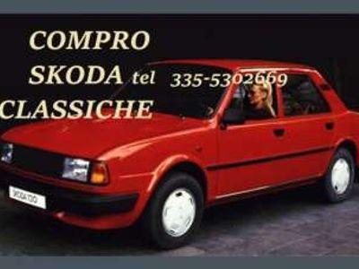 usata Skoda 105 COMPRO A MOTORE POSTERIORE Codroipo