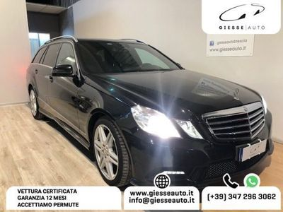 usata Mercedes E250 CDI S.W. 4Matic Premium FULL ! STUPENDA GARANZIA