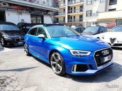 usata Audi RS3 2.5 400 cv tetto apr, ufficiale italian