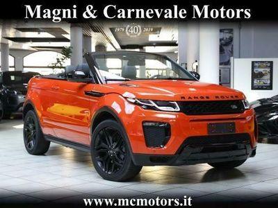 usata Land Rover Range Rover evoque HSE CABRIO - UNIPROP - IVAESP - UFFITA