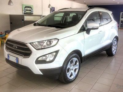 used Ford Ecosport business diesel 100cv aziendale 2018