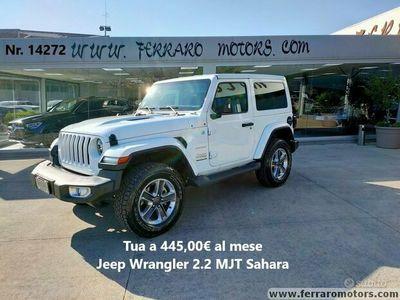 usata Jeep Wrangler 2.2 MJT Sahara Tua a 445euro/mese