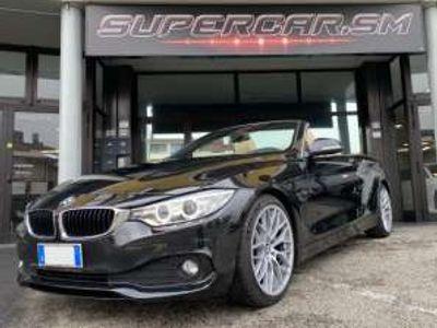 usata BMW 420 d Cabrio Luxury 19'' PELLE BEIGE GARANZIA rif. 14312294