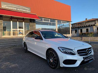 usata Mercedes C250 4matic amg extra full