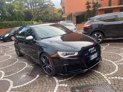 usata Audi RS3 Sportback 2017 nera 400cv