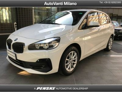 usata BMW 216 Serie 2 Active Tourer d Advantage del 2019 usata a Milano