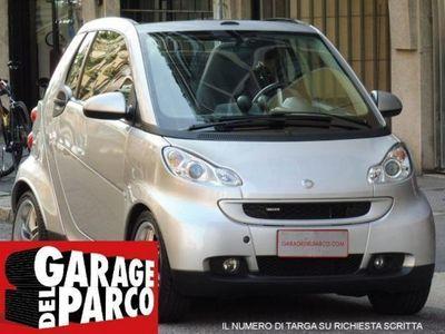 usata Smart ForTwo Cabrio brabus 1.0 TAGLIANDI