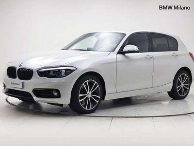 usata BMW 116 Serie 1 d 5p. Sport del 2019 usata a Milano