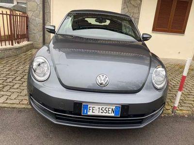 usata VW Maggiolino Cabrio 2.0 TDI DSG Design Blu