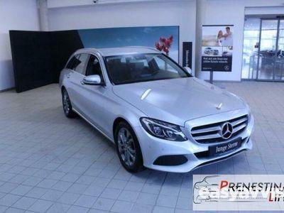 usado Mercedes C200 d S.W. Premium navi fari led pdc garanzia mercedes rif. 11420050