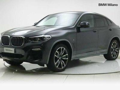 usata BMW X4 xDrive20d Msport-X del 2019 usata a Milano