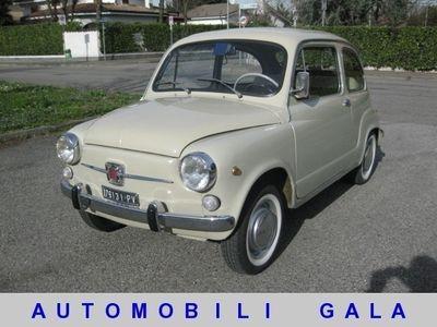 "usata Fiat 600D FANALONA "" ISCRITTA ASI "" BELLISSIMA"